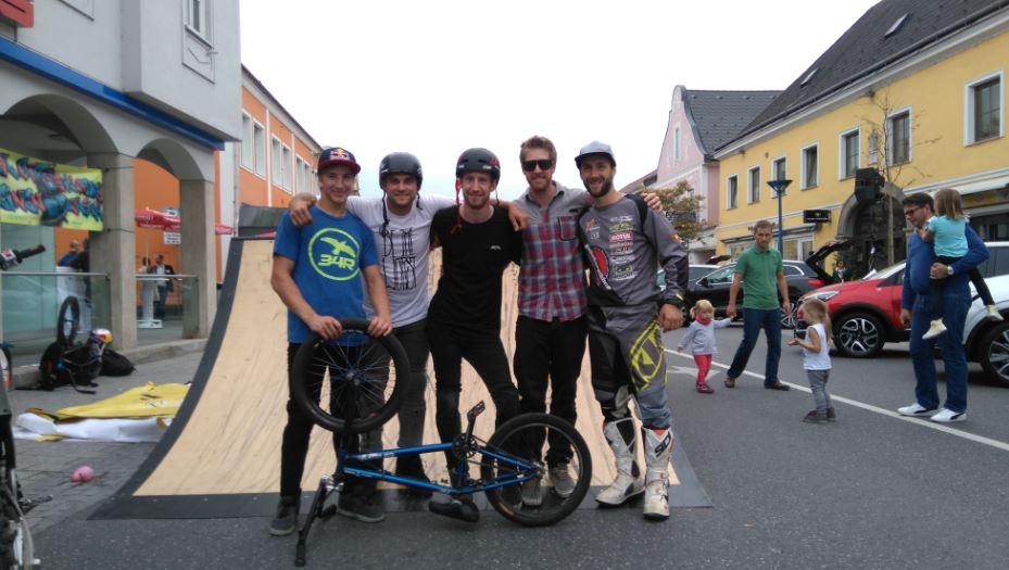 19.09.2015 BMX und Motorrad Trialshows beim Wieselburger Autoherbst