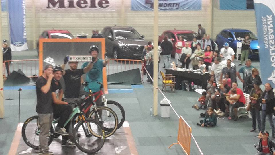 5.-6.9.2015 Freestyle Mountainbike Shows bei den Laaer Festtagen