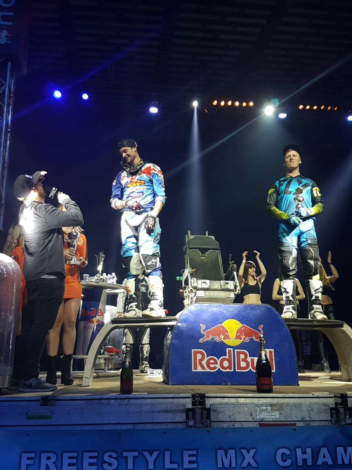 28.01.2017 Freestyle Motocross Weltmeisterschaft Night of the Jumps Basel