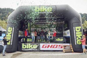 31. August – 2. September 2018 Eventmoderator Bike Festival Saalfelden leogang