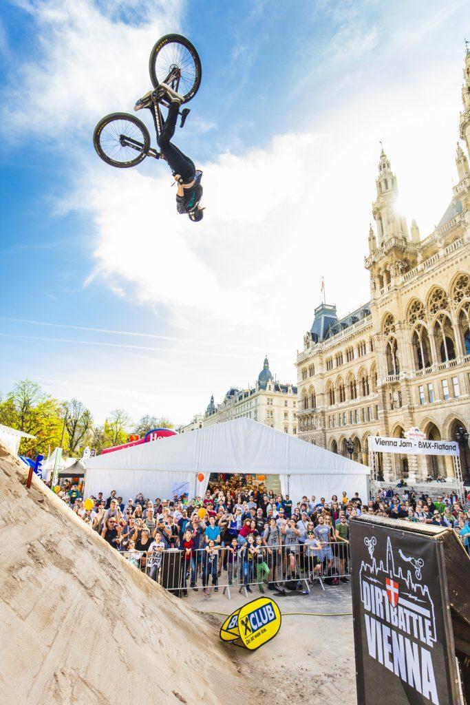 Sport Event, Sportveranstaltung Wien, Event Wien, Dirtbattle Vienna, Bikefestival Rathausplatz