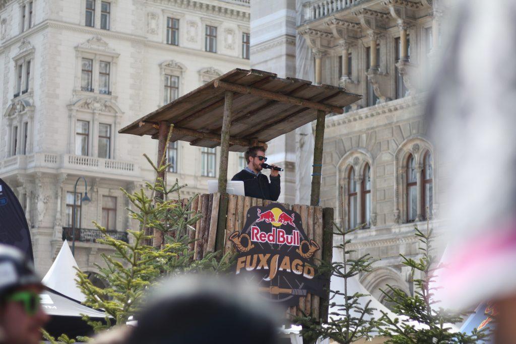 Eventmoderator, Moderation, Eventmoderation, Moderator Wien, Moderator Österreich, Moderator buchen, Red Bull Fuxjagd, Bikefestival WIen
