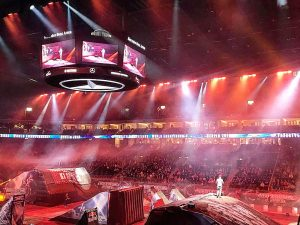 22. & 23. Februar 2019 Night of the Jumps Moderation @ MERCEDES BENZ Arena Berlin