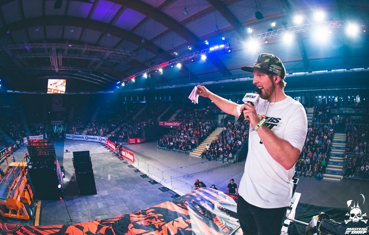 19. -20. April 2019 Masters of Dirt Total Freestyle Salzburg Arena