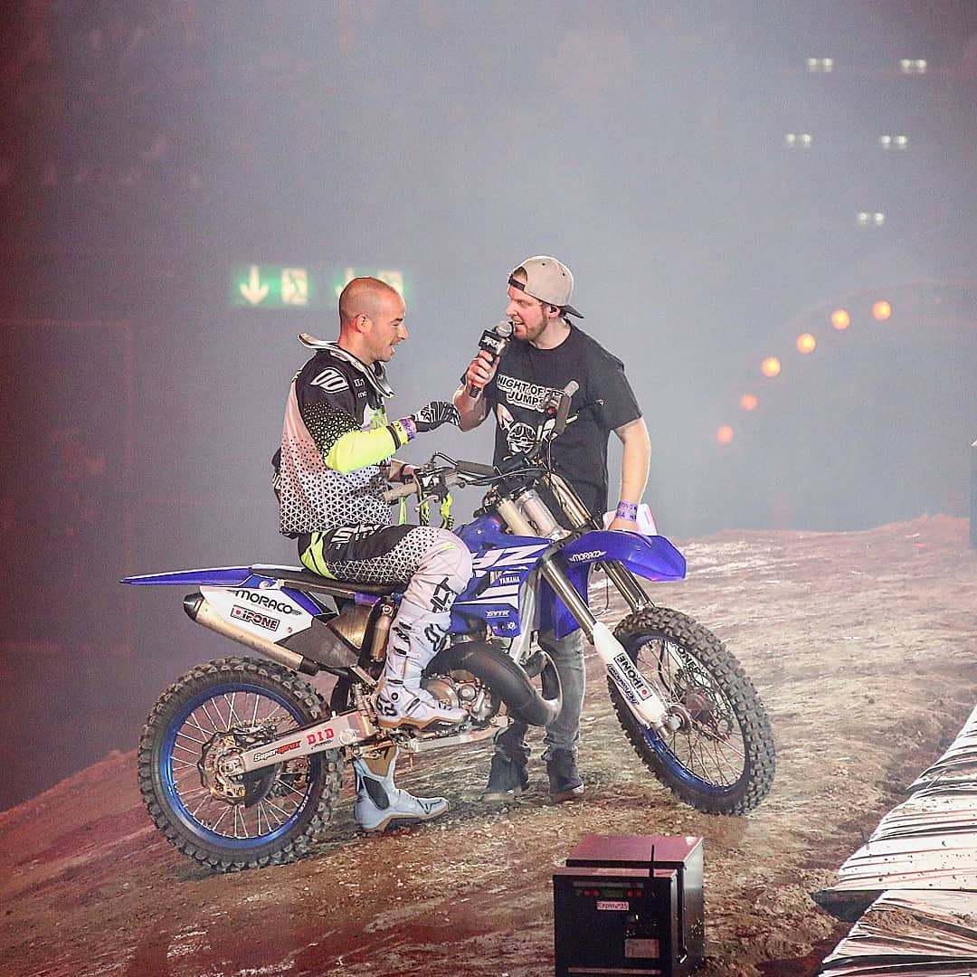 Read more about the article 25. Mai 2019 Night of the Jumps Moderation @ Hallenstadion Zürich