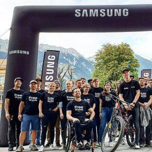22. September 2019 Fabio Wibmer Samsung Wheelie Weltrekord Innsbruck Stadt Österreich