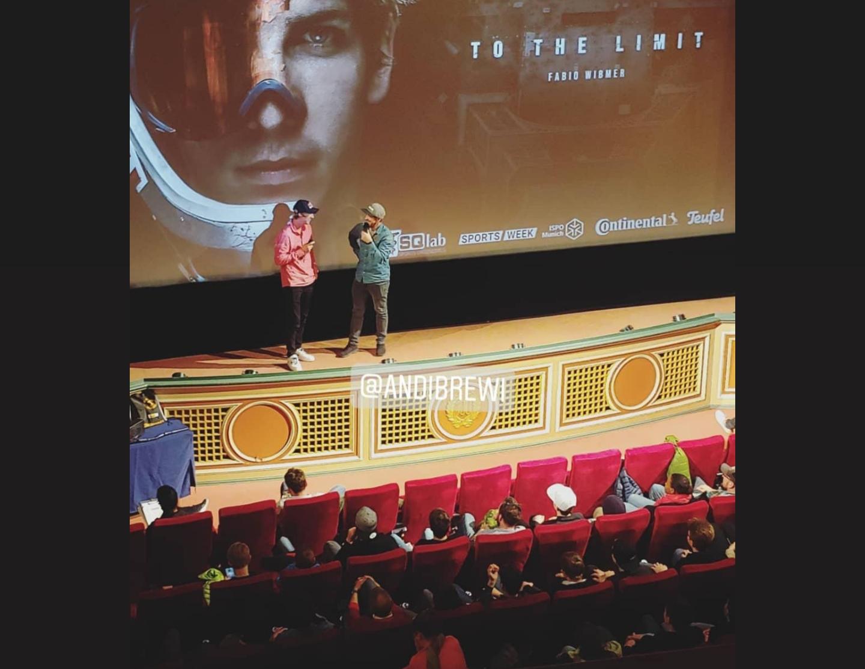 Read more about the article 27. Januar 2020 Videoscreening Fabio Wibmers To the Limit Dokumentation Filmtheater München Deutschland