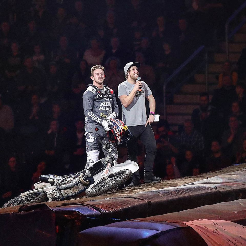 Read more about the article 21. + 22. Februar 2020 Night of the Jumps Moderation @ Mercedes Benz Arena Berlin